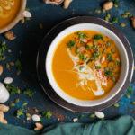 Тыквенный крем суп с карри