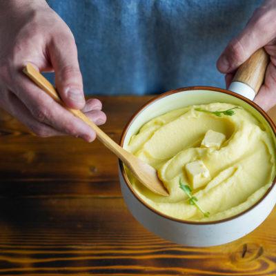 Идеальное картофельное пюре