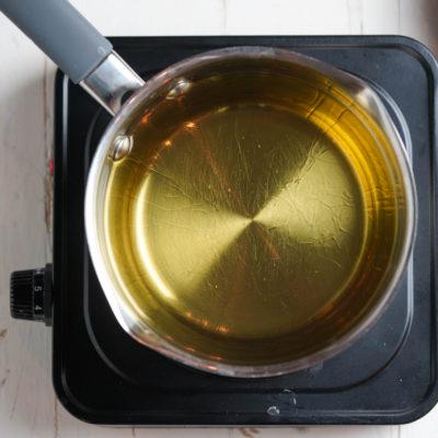 Нагреваем масло