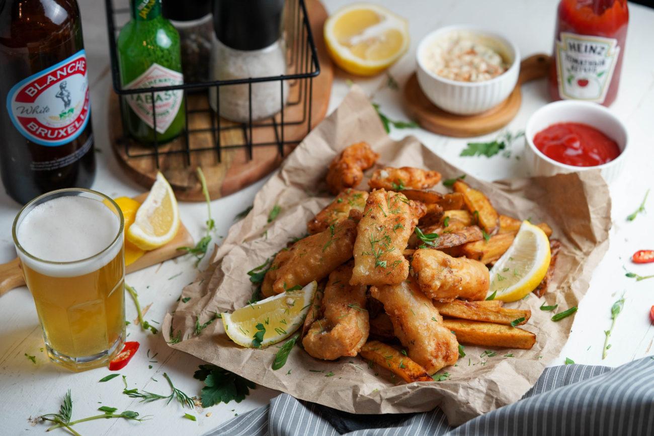 Фиш энд чипс (fish and chips)