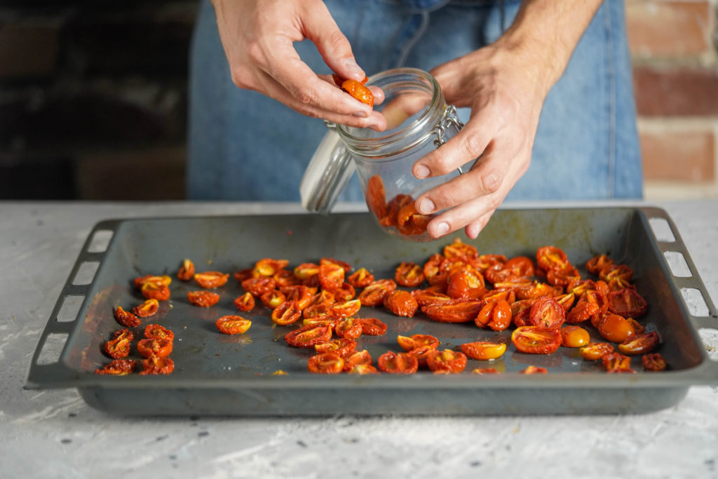 Рецепт вяленным помидор